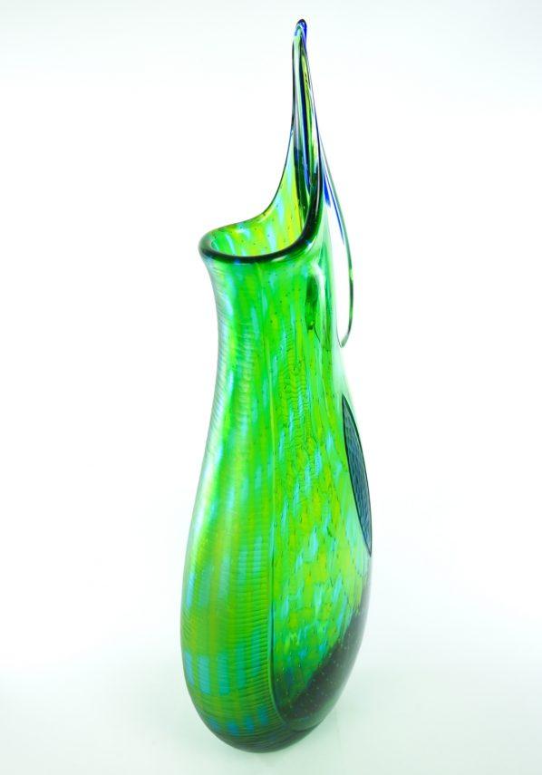 Vaso Esclusivo Maestro Vetraio Afro Celotto - Pezzo Unico 1/1 Murano Glass Vase