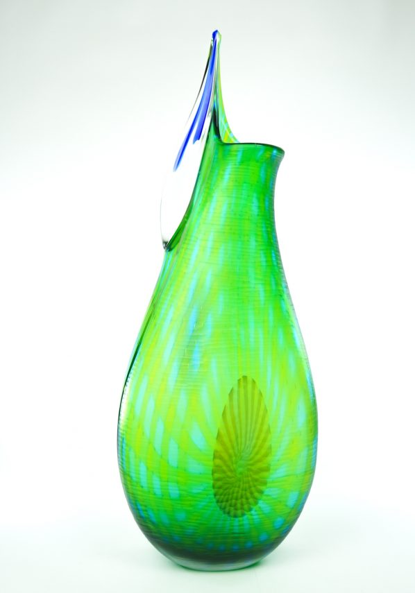 Exclusive Murano Glass Vase from Master Afro Celotto - Unique Piece 1/1
