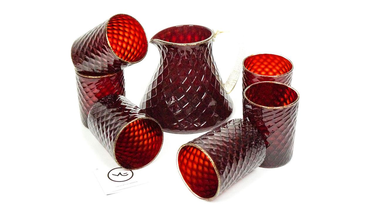murano-glass-goblets