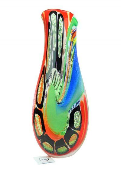 Red Vase Master Afro Celotto – Unique Piece 1/1