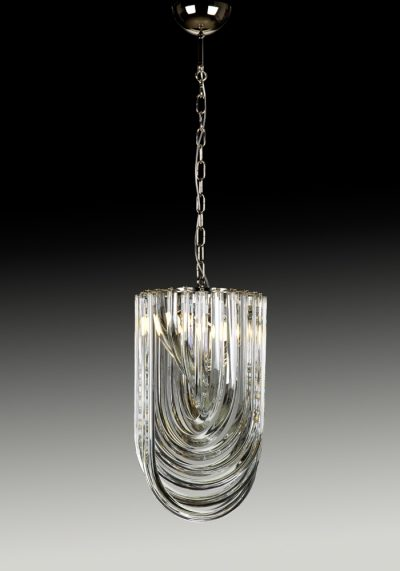 Gran Canal – Made Murano Glass Chandelier Curve