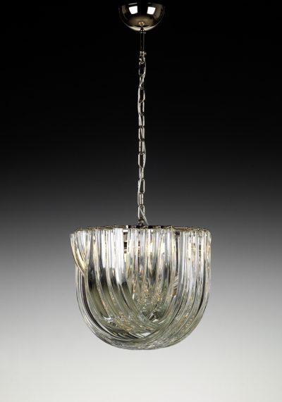 Canal – Made Murano Glass Chandelier Curve