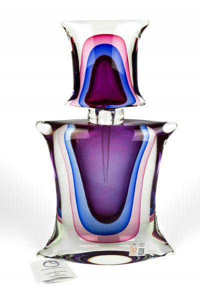 Sommerso Bottle – Made Murano Glass