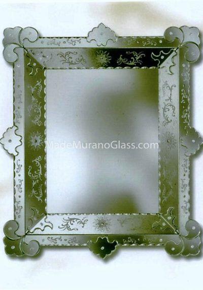Venetian Glass Mirror – Giardini – Murano Glass