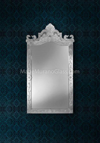 Venetian Glass Mirror – Venier – Murano Art