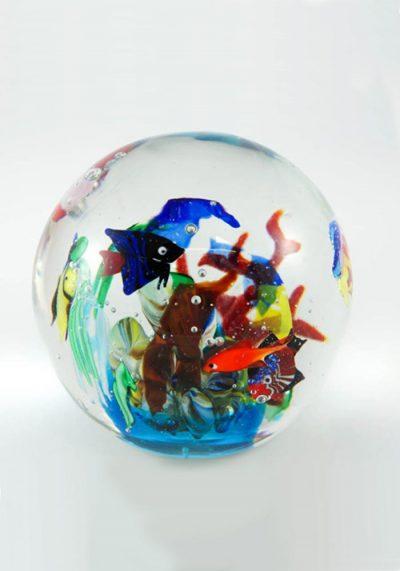 Murano Glass Aquarium Ball – Venetian Glass