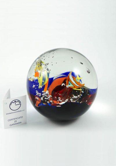 Murano Glass Aquarium Ball