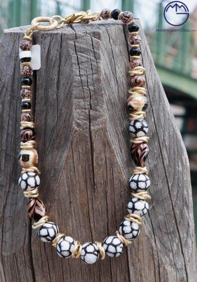Venetian Glass Jewellery – Necklace In Murano Glass – Murano Art Glass