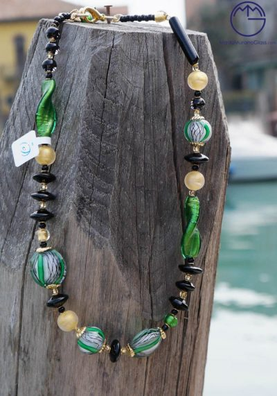 Venetian Glass Jewellery – Necklace In Murano Glass