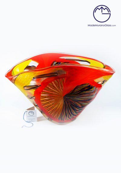 Sophia – Murano Glass Bowl Engraved
