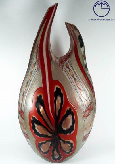 Avan – Exclusive Venetian Glass Vase Engraved