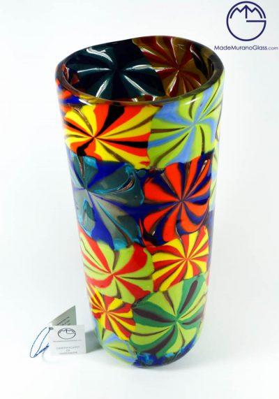 Carnival – Multicolour Murano Vase
