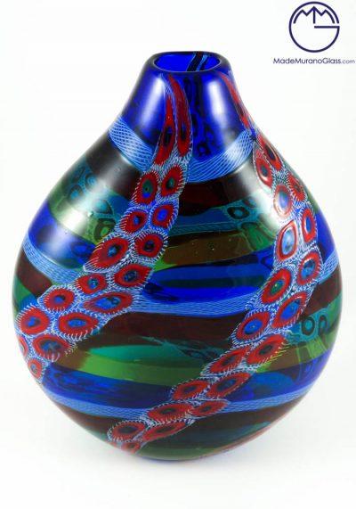 Adriatic – Exclusive Venetian Glas Vase With Murrine