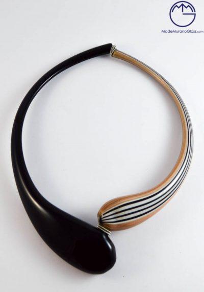 Venetian Glass Jewellery – Pendant With Avventurina In Murano Glass – Venetian Blown Glass