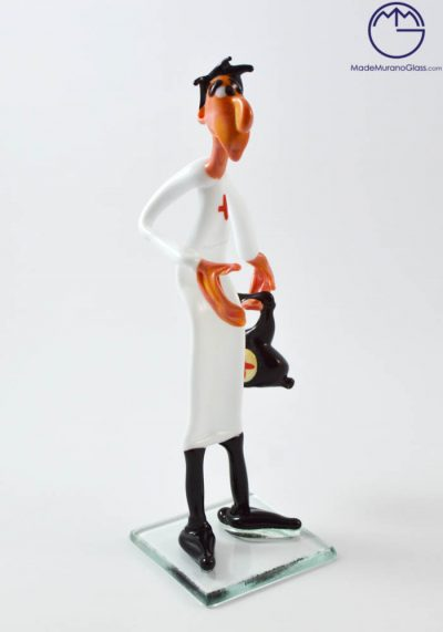 Murano Glass Figurines – Doctor – Venetian Glass