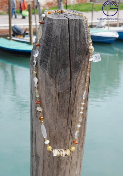 Venetian Glass Jewellery – Necklace In Murano Glass – Murano Collection
