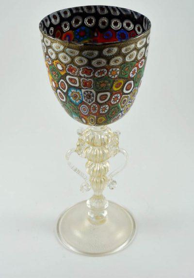 wine glass murano