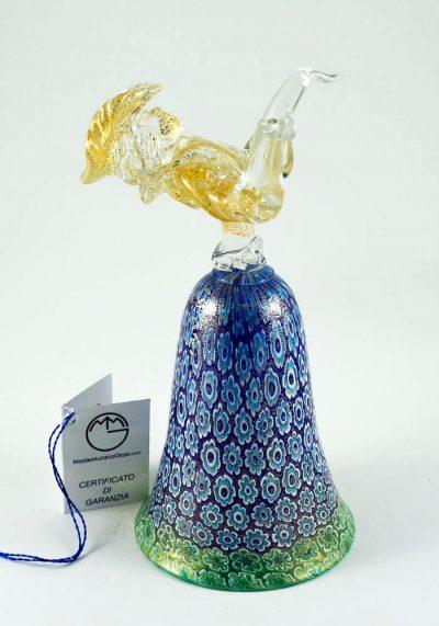 murano glass bell
