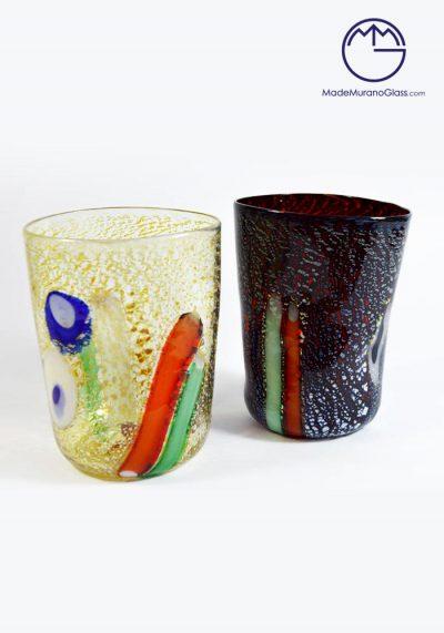2 Murano Drinking Glasses – Murano Glass