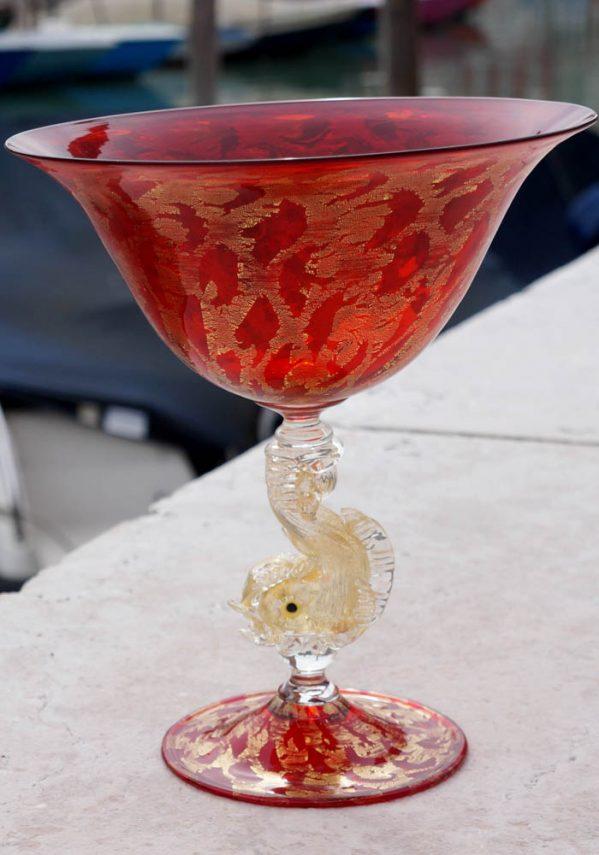 murano wine glass