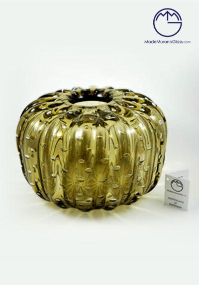 Moyo – Venetian Glass Vase Smoky Grey