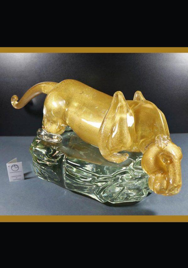 murano glass statue