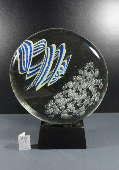Murano Glass Round – Stone Sculpture