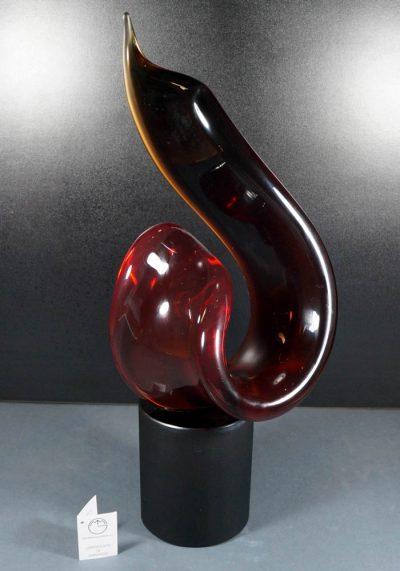 Elisa – Murano Glass Abstract Sculpture – Alberto Donà Master – Murano Art Glass