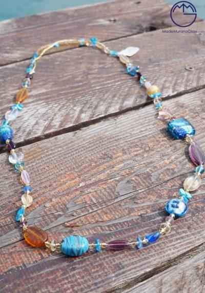 Seattle – Venetian Glass Jewellery – Necklace In Murano Glass