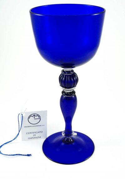 Calici Murano Vetro Artistico Blue