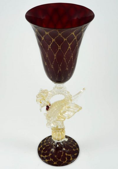 wine murano goblet
