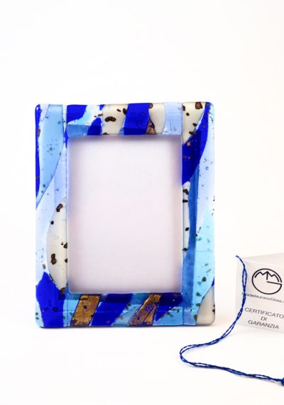 Picture Frame In Murano Glass