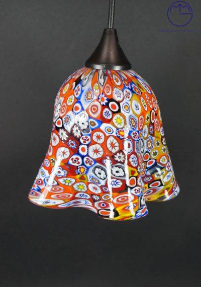 Venetian Glass Lamps With Murrina Millefiori – Murano Glass