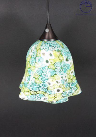 Illinois – Venetian Glass Lamps With Murrina Millefiori – Murano Glass