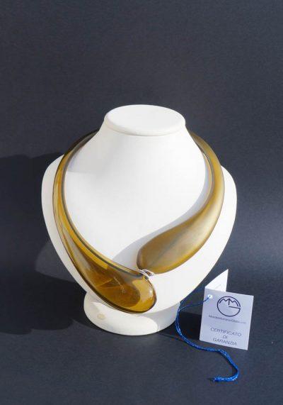 Erica – Murano Glass Jewelry – Pendant In Venetian Blown Glass