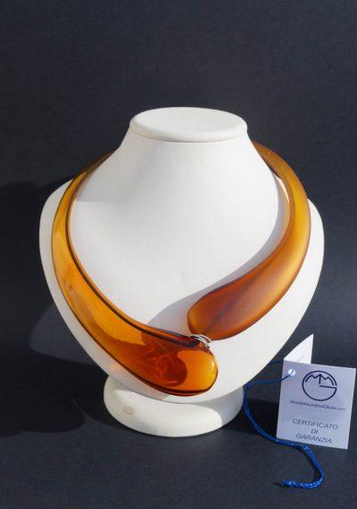 Giada – Murano Glass Jewelry – Pendant In Venetian Blown Glass