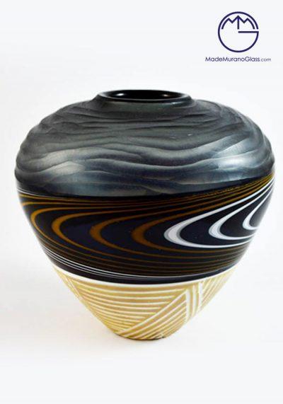 African Vase Engraved
