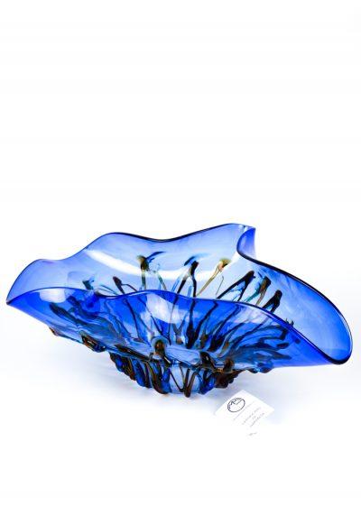 Mari E Monti – Blue Bowl – Made Murano Glass