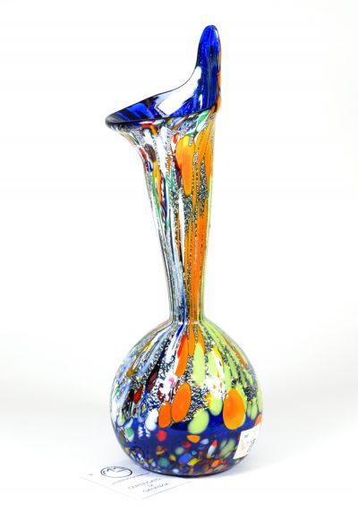 Calla – Murano Glass Vase Fantasy Blue