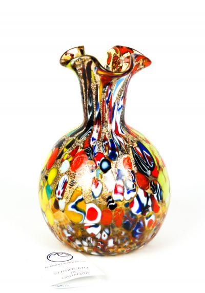 Quadri – Murano Vase Fantasy Amber