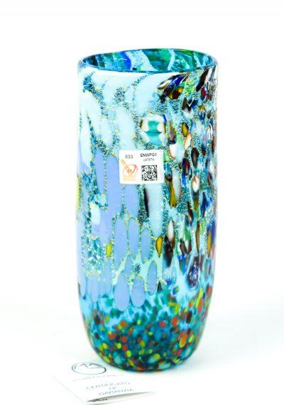 Magia – Vase Fantasy Aquamarine – Made Murano Glass