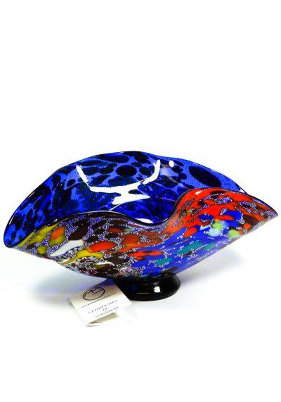 Laguna Blu – Blue Bowl Fantasy – Made Murano Glass