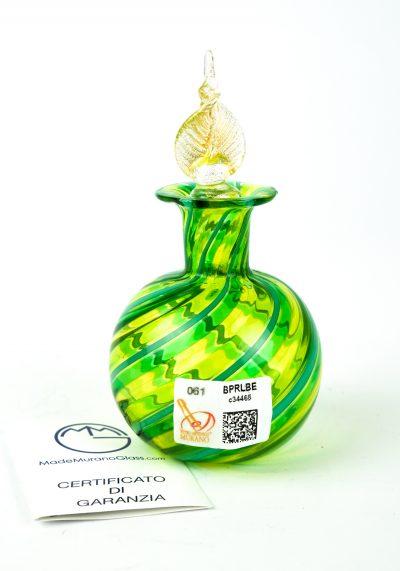 Bottle Green And Gold Leaf 24kt