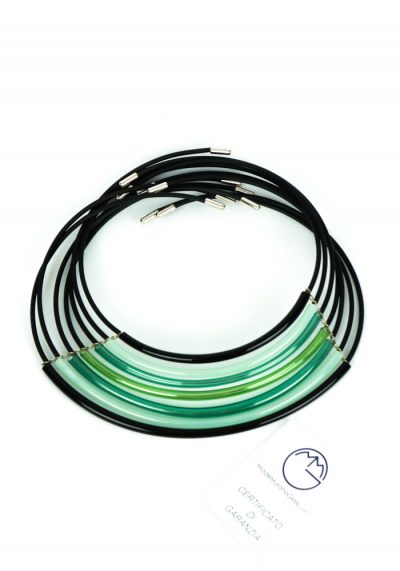 Cleo – Necklace 7 Wires – Made Murano Glass