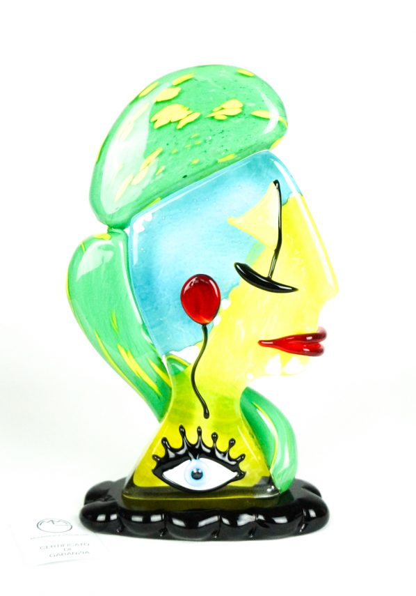 Hope - Scultura Testa Di Donna - Pop Art