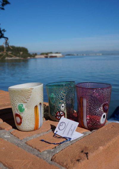 Set Di 3 Bicchieri In Vetro Murano – Goti De Fornasa