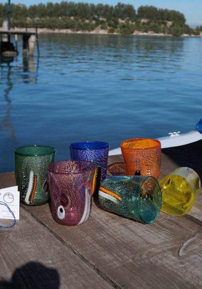 Set Di 6 Bicchieri In Vetro Murano – Goti De Fornasa
