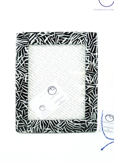 Picture Frame In Murano Glass – Size Xl