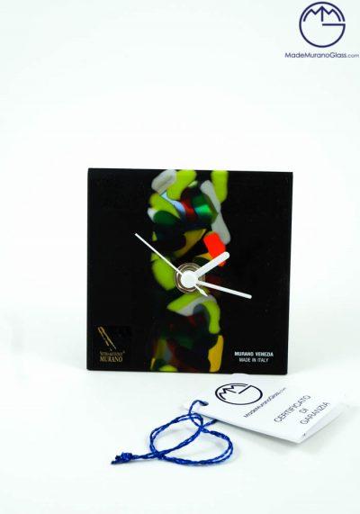 Texas – Table Clock In Murano Glass – Murano Glass Ornaments