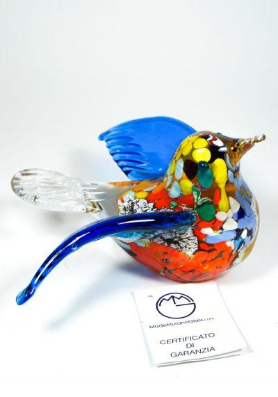 Collection Aida Sommerso – Murano Glass Bird – Made Murano Glass